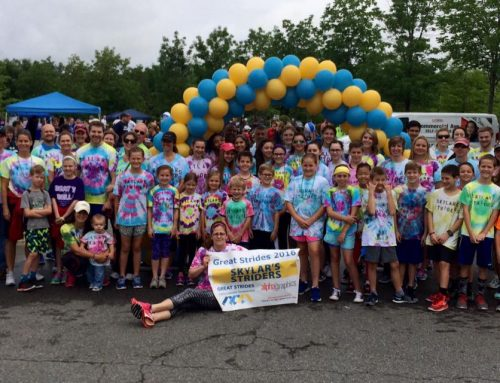 Thanks to all the SHBHU Families who came out to help Skylar and her Skylar's Striders CFF Walk!