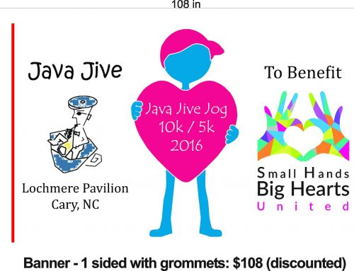 Annual SHBHU Java Jive Jog August 13th 8:00am REGISTER EARLY and WIN GREAT PRIZES!