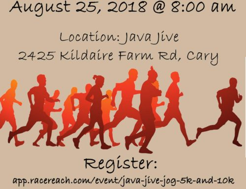 2018 Annual SHBHU Java Jive Jog 5k/10k is BACK! August 25th 2018 8:00am