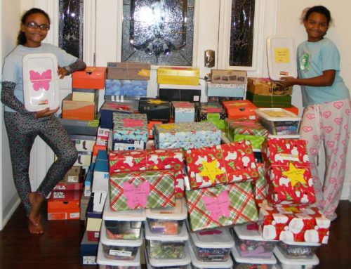 Dove Missions Holiday Shoebox Drive is BACK AGAIN! Ambassador Tonya and her team need your help!